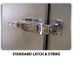Standard Latch Image For Freezer Replacement Door - American Cooler Technologies