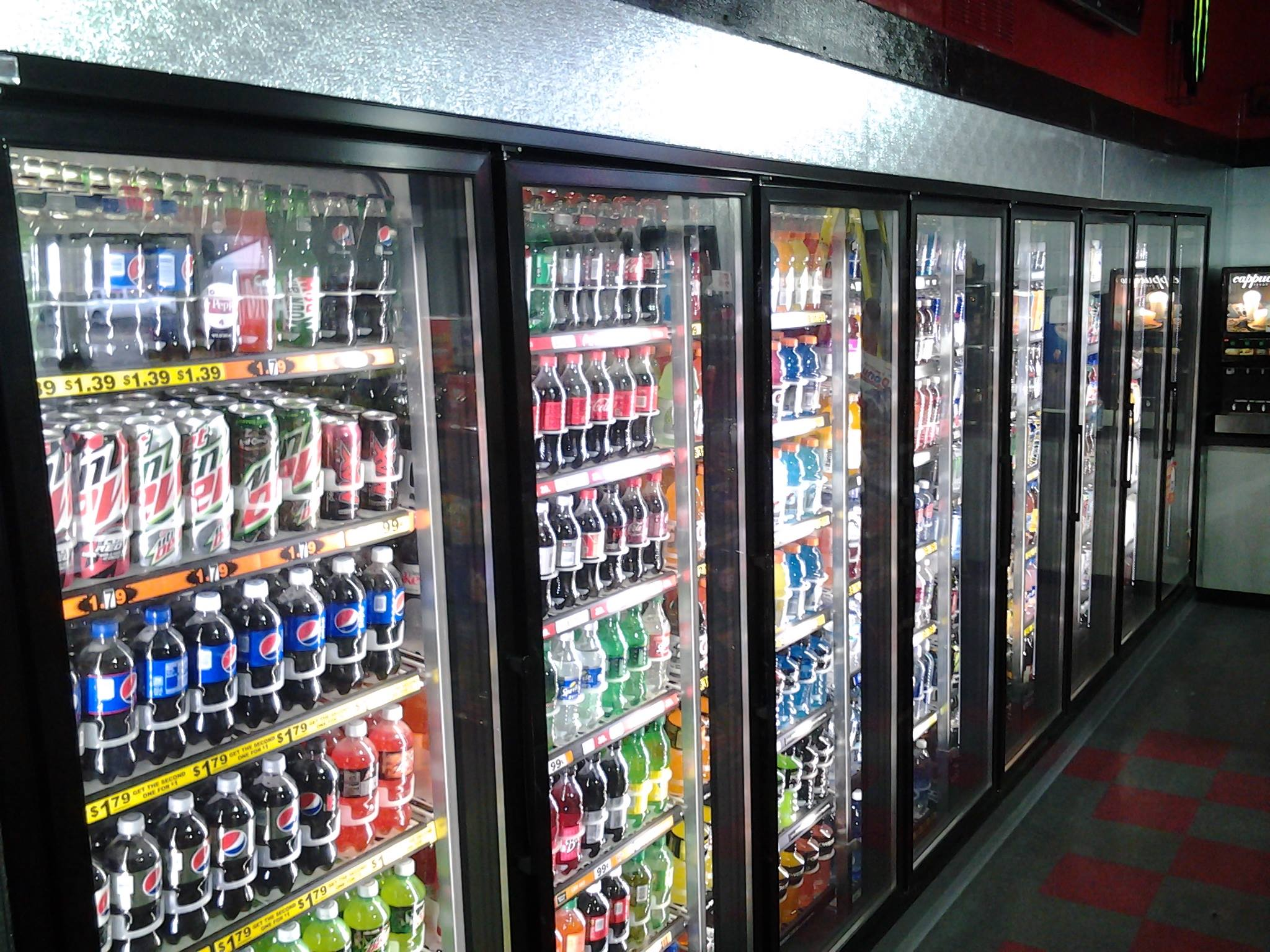 Commerical beverage- Lawrence, MI- American Cooler Technologies